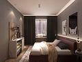 90平米三室两厅宜家风格卧室装修案例