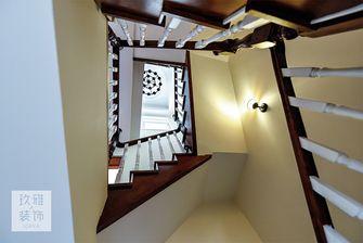 20万以上140平米三室一厅其他风格楼梯图片大全