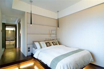 130平米三室两厅现代简约风格卧室家具图