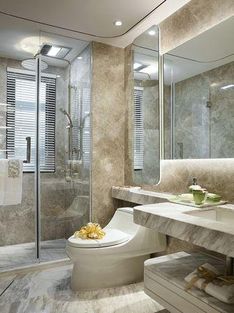110平米三室两厅法式风格卫生间浴室柜图片