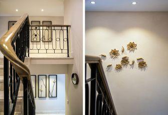 豪华型140平米三室两厅中式风格楼梯图片