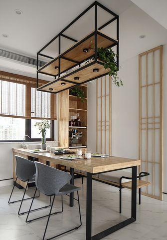 120平米三日式风格书房装修效果图