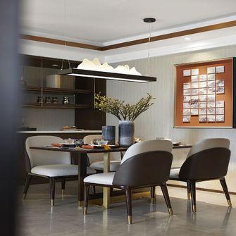 110平米三室三厅中式风格餐厅设计图