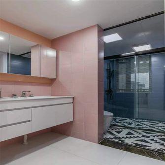 100平米三室一厅田园风格卫生间设计图