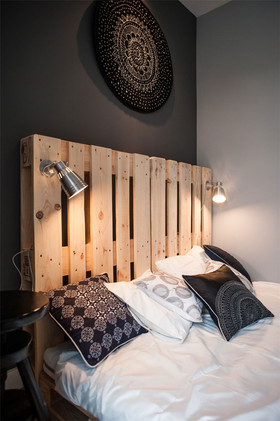 經濟型90平米北歐風格臥室裝修案例