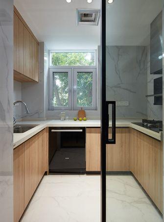 70平米三日式风格厨房图