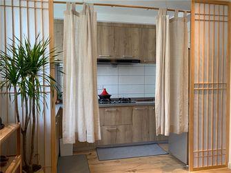 110平米三室两厅日式风格厨房设计图