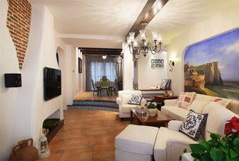 80平米地中海风格客厅装修效果图
