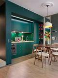 30平米小户型地中海风格厨房欣赏图