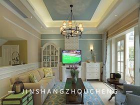 140平米別墅法式風格客廳裝修圖片大全