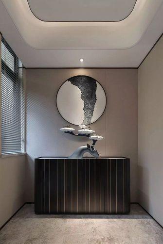 140平米四室两厅中式风格玄关图片大全