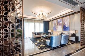 140平米四室兩廳中式風格客廳裝修案例