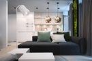 70平米一居室其他风格客厅设计图