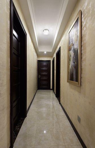 120平米四室一厅新古典风格走廊设计图