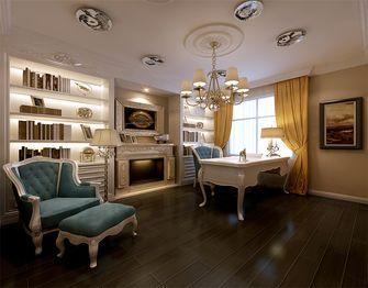 豪华型140平米四室三厅新古典风格书房图片