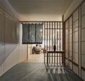 140平米三室两厅日式风格玄关设计图