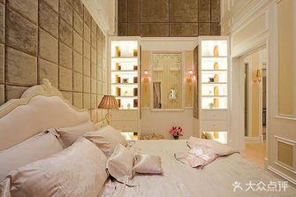 140平米四英伦风格卧室图片