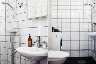 40平米小户型宜家风格卫生间欣赏图