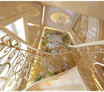 20万以上140平米别墅新古典风格楼梯装修效果图