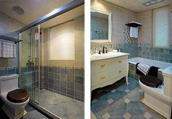 140平米三室三厅地中海风格卫生间欣赏图