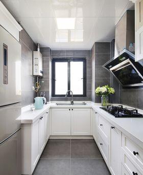100平米三室兩廳北歐風格廚房欣賞圖