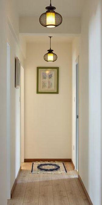 10-15万90平米三室两厅田园风格玄关图
