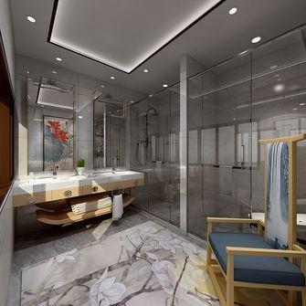 130平米三室一厅新古典风格卫生间图片大全