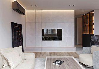 90平米一室一厅现代简约风格客厅设计图