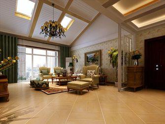 富裕型140平米四室三厅田园风格客厅图片大全