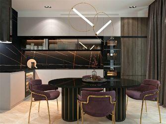 140平米公寓新古典风格阳台图片