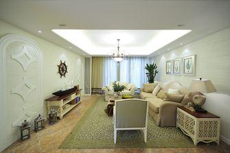 110平米三室两厅地中海风格玄关图片大全