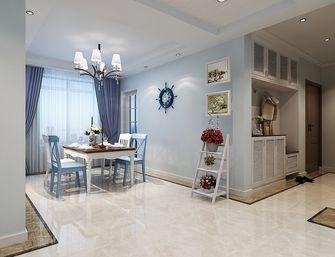 120平米三室三厅地中海风格餐厅设计图