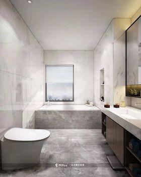 120平米三室兩廳現代簡約風格衛生間圖片大全