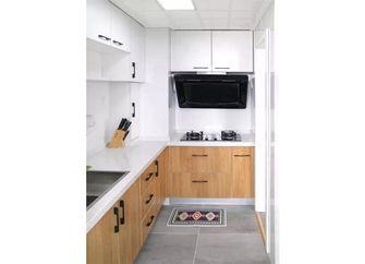 50平米一室一厅北欧风格厨房设计图