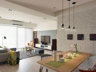 80平米三室两厅宜家风格餐厅欣赏图