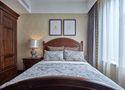 120平米三室两厅欧式风格卧室背景墙装修案例