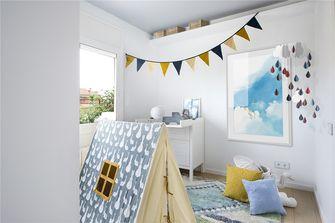 130平米三室两厅东南亚风格卧室设计图