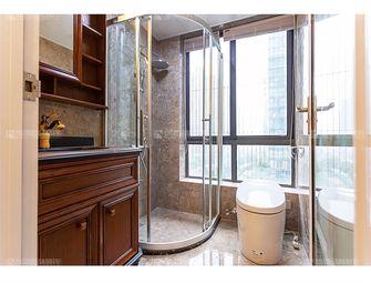 富裕型140平米四室三厅美式风格卫生间设计图