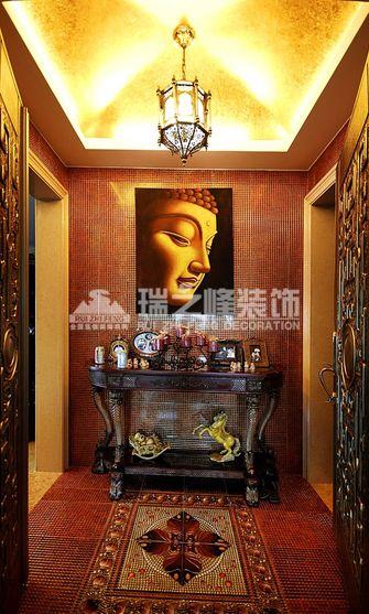 5-10万140平米三室两厅东南亚风格玄关设计图