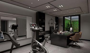 130平米复式现代简约风格健身室效果图
