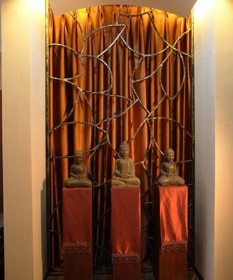 豪华型140平米三室两厅东南亚风格玄关图片大全