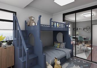 50平米小户型现代简约风格儿童房图