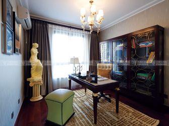 豪华型140平米复式欧式风格书房图