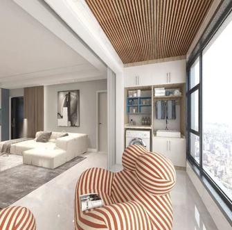 100平米三现代简约风格阳台图片