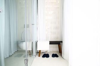 60平米一居室北欧风格卫生间图片