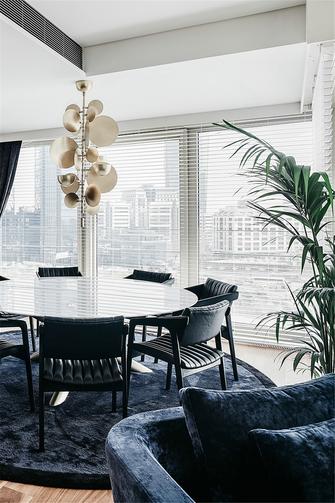 130平米三室两厅北欧风格餐厅装修效果图
