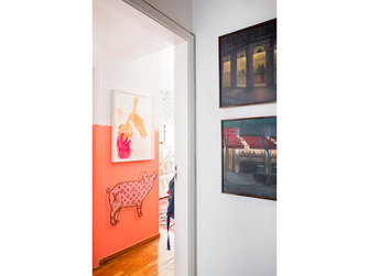 140平米三室一厅混搭风格卧室欣赏图