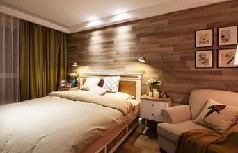 130平米三室一厅美式风格卧室图片大全