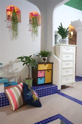 富裕型140平米三室两厅地中海风格储藏室图片大全