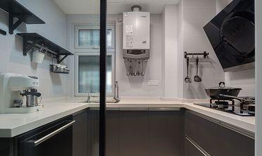 80平米三室一厅混搭风格厨房装修图片大全